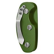 FURA Outdoor Aluminum Alloy Lightweight Key Holder Organizer with Clip - Black / Orange / Green