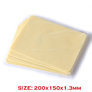 Tattoo High Quality Silicone Double Sides 10Pcs Blank Tattoo Practice Skins Small Size for Beginners