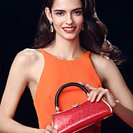 жен. Мешки Все сезоны Кожа другого типа Вечерняя сумочка для Для праздника / вечеринки Черный Пурпурный Красный
