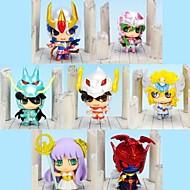 アニメのアクションフィギュア に触発さ 聖闘士星矢 コスプレ 6 cm モデルのおもちゃ 人形玩具