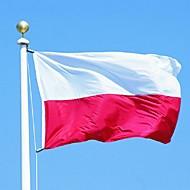 (旗竿なし)90x150cmポーランドポーランド政府バナー大型の屋外ポーランドフラグ最高の価格
