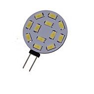 billige Bi-pin lamper med LED-SENCART 2W 3000-3500/6000-6500 lm G4 LED-spotpærer MR11 12 leds SMD 5730 Dekorativ Varm hvit Kjølig hvit DC 24V AC 24V AC 12V DC 12 V