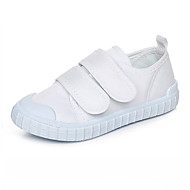 baratos Sapatos de Menina-Para Meninos / Para Meninas Sapatos Lona / Tecido Primavera Conforto Tênis Velcro para Branco
