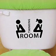 zidne naljepnice na zid naljepnice stil osobnost wc ukras pvc zidne naljepnice