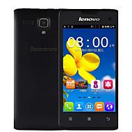 "Lenovo A396 4.0 "" Android 2.3 3G smartphone (Single SIM Quad Core 2 MP 256MB + 512MB Sort / Lyserød / Hvid)"
