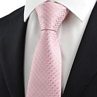 tanie Akcesoria dla mężczyzn-Męskie Impreza/Wieczór Styl formalny Luksusowy Kratka Biuro / Biznes Modne Krawat Kreatywne