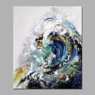 Handmade  Acrylic Paintings Sea Wave Beautiful Landscape Summer Painting Home Deco For Living Room Stretchered