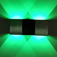 tanie Kinkiety Ścienne-Modern / Contemporary Na Domowy Metal Światło ścienne 90-240V 2W