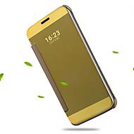 billiga Mobil cases & Skärmskydd-fodral Till LG LG G5 LG-fodral Plätering Spegel Lucka Genomskinlig Fodral Ensfärgat Hårt Akrylfiber för