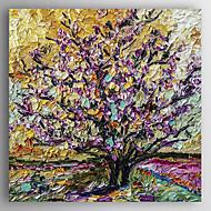 Handgeschilderde Landschap / Abstracte landschappenModern Eén paneel Canvas Hang-geschilderd olieverfschilderij For Huisdecoratie