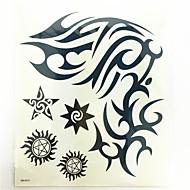 1 kpl vedenpitävä väliaikainen tatuointi (24cm * 20.3cm)