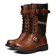 Bărbați Cizme Confortabili Pantofi Skate Cowboy/Cizme Western Cizme de Combat Materiale Personalizate Primăvară Vară Toamnă IarnăCasual