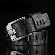 Homens Vintage Trabalho Liga, Cinto para a Cintura - Estilo Moderno
