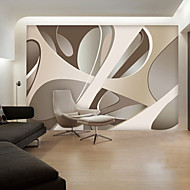 현대 부직포 대형 벽화 벽지 추상 그래픽 아트 벽 장식 배경 벽 종이