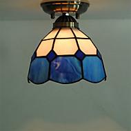 billige Taklamper-Takplafond Nedlys - Mini Stil, Tiffany, 110-120V 220-240V Pære ikke Inkludert
