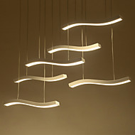 baratos -6-luz Luzes Pingente Luz Descendente - LED, 110-120V / 220-240V, Branco Quente / Branco, Fonte de luz LED incluída / 20-30㎡