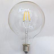 7W E26/E27 フィラメントタイプLED電球 G125 8 LEDの COB 防水 装飾用 温白色 700lm 2700K 交流220から240V
