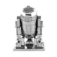 ieftine Roboți, monștri și jucării spațiale-Robot Puzzle 3D Puzzle Puzzle Metal Μοντέλα και κιτ δόμησης Aparat Robot 3D Aliaj Metalic MetalPistol 8 la 13 Ani
