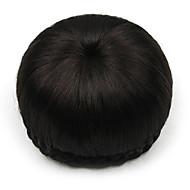 kinky krøllete svart menneskelige hår blonder parykker chignons 2/33
