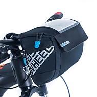 Χαμηλού Κόστους Τσάντες για τιμόνι ποδηλάτου-ROSWHEEL 3 L Τσάντα για τιμόνι ποδηλάτου Υδατοστεγανό, Φοριέται, Αντικραδασμική Τσάντα ποδηλάτου PU δέρμα / Ύφασμα / Mesh Τσάντα ποδηλάτου Τσάντα ποδηλασίας Ποδηλασία / Ποδήλατο / Αδιάβροχο Φερμουάρ