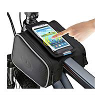 ROSWHEEL Vesker til sykkelramme Mobilveske 5 tommers Vanntett Glidelås Anvendelig Fukt-sikker Støtsikker Berøringsskjerm Sykling til