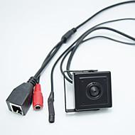 billige IP-kameraer-hd 1.0mp onvif h.264 p2p mobil overvåkning cctv mini ip kamera 2.8mm pinhole lens skjul kamera