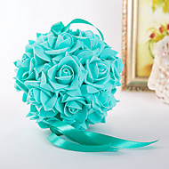 6inch(15cm)Foam Rose Flower Ball for Wedding Decoration