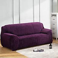מודרני פוליאסטר כיסוי ספה , למתוח מוצק כיסויים
