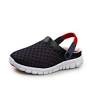 povoljno Obuća većih konfekcijskih brojeva-Žene Cipele Platno Ljeto Ravna potpetica Crvena / Zelen / Plava