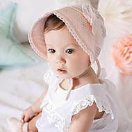 tanie Akcesoria dla dzieci-Kapelusze i czapki - Dla dziewczynek Dla chłopców - Na każdy sezon - Koronka - Bandany - White Różowy