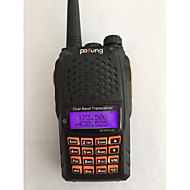 billige Walkie-talkies-BAOFENG Håndholdt Digital UV-6 PLUSFM-radio Lader og adapter Stemmekommando Strømskifter høy/lav Type walkie-talkie LCD-display
