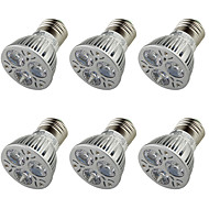 billige Spotlys med LED-E26/E27 LED-spotpærer A50 3 leds Høyeffekts-LED Dekorativ Varm hvit 250lm 3000K AC 110-130 AC 85-265 AC 220-240 AC 100-240V