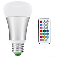 E26/E27 LED gömbbúrás izzók A80 1 led COB 900lm-1200lmlm Természetes fehér RGB RGB multicolor+ Daylight White 6500KK Vízálló Tompítható