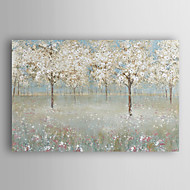 Hand Painted Oil Painting Landscape Cherry Blossom Tree with Stretched Frame 7 Wall Arts®