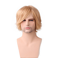Men's Short Natural Straight Handsome Hair 10 Inches