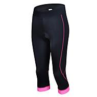 女性用 半袖 サイクリング用7部丈タイツ - ブルー / ピンク / ライトブルー バイク 高通気性, モイスチャーコントロール / 高弾性