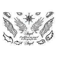 billiga Tatuering och body art-5 Tecknat Smyckeserier Djurserier Blomserier Totemserier Annat tecknad serie Tatueringsklistermärken