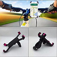 Montare Telefon Bicicletă Portabil Anti tremurat Grajd pentru Bicicletă șosea Bicicletă montană ABS iPhone X iPhone XS iPhone XR Ciclism Negru Roz 1 pcs