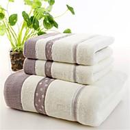 Badehåndkle,Garn Bleket Høy kvalitet 100% Bomull Håndkle