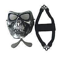 ieftine Siguranță-ne. M02 argint cs câmp craniu masca zombie 2 generație se confruntă cu masca de protecție de frică
