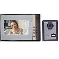 billige Dørtelefonssystem med video-7 Håndfri 800*3(RGB)*480 En Til En Video Dørtelefon