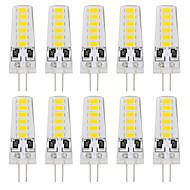 tanie Więcej Kupujesz, Więcej Oszczędzasz-YouOKLight 10pcs 180 lm G4 Żarówki LED bi-pin T 12 Diody lED SMD 5733 Dekoracyjna Ciepła biel Zimna biel DC 12V