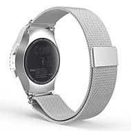 Pulseiras de Relógio para Gear S2 Classic Samsung Galaxy Pulseira Estilo Milanês Aço Inoxidável Tira de Pulso