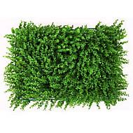 1 Gren Plastikk Planter Veggblomst Kunstige blomster 60x40cm