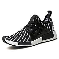 ieftine Adidași Bărbați-Bărbați Pantofi Tul Țesătură Primăvară Toamnă Pantofi Flați Plimbare Pentru Casual Alb Negru Albastru