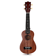 cheap Ukuleles-Music Box Toys Novelty Circular Wood Pieces Girls' Boys' Christmas Birthday Children's Day Gift
