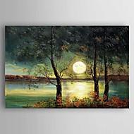 Håndmalte Landskap olje malerier,Moderne Et Panel Lerret Hang malte oljemaleri For Hjem Dekor