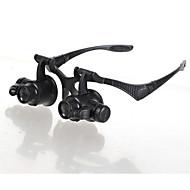 Vergrootglazen / Microscoop Horlogereparatie / Sieraden Algemeen / LED / Headset 10X / 15X / 20X / 25X 15mm Normaal Kunststof