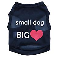 Χαμηλού Κόστους Αναλώσιμα Για Σκύλος-Γάτα Σκύλος Φανέλα Ρούχα για σκύλους Άνθινο / Βοτανικό Μαύρο Μπλε Ροζ Τερυλίνη Στολές Για κατοικίδια Ανδρικά Γυναικεία Μοντέρνα