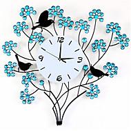 お買い得  壁時計-コンテンポラリー その他 壁時計,円形 メタル クロック